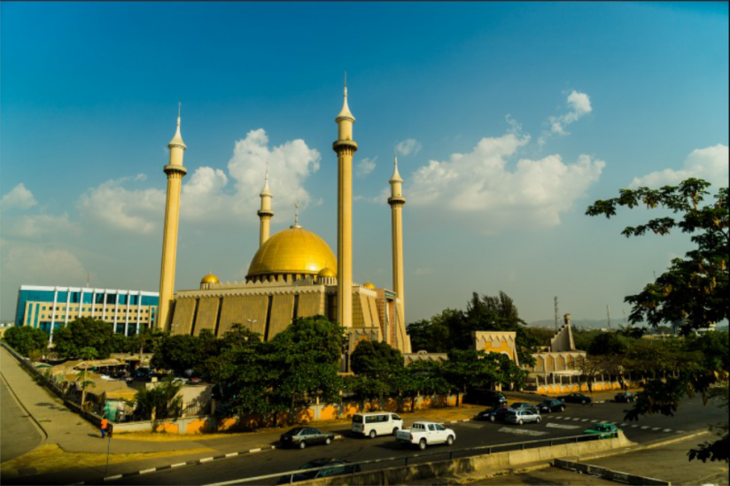 Moschee in Abuja (Nigeria)