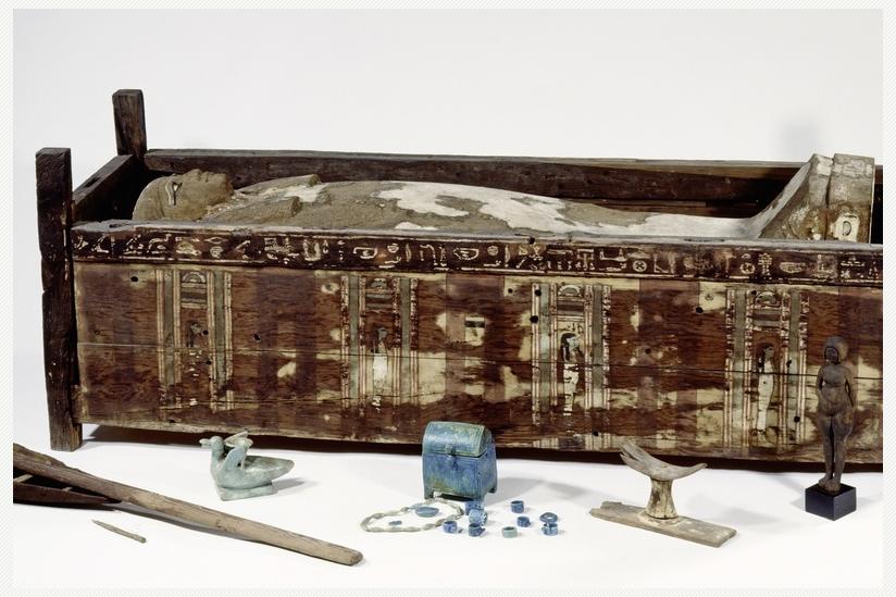 Altägyptischer Pfostensarg