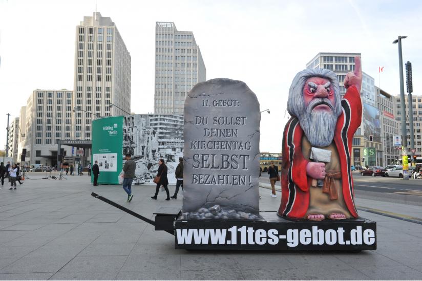 Moses auf dem Potsdamer Platz