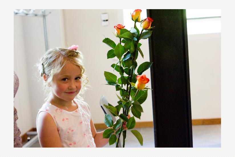 Die Rosenbringerin in Altlandsberg