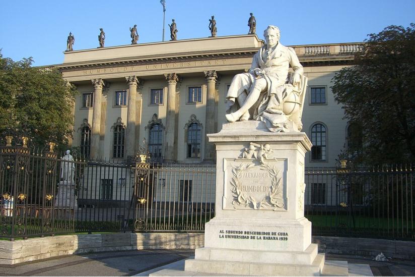Die Humboldt-Universität in Berlin