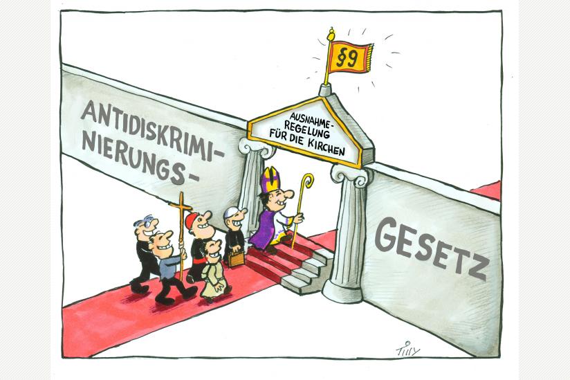 Karikatur: Jaques Tilly