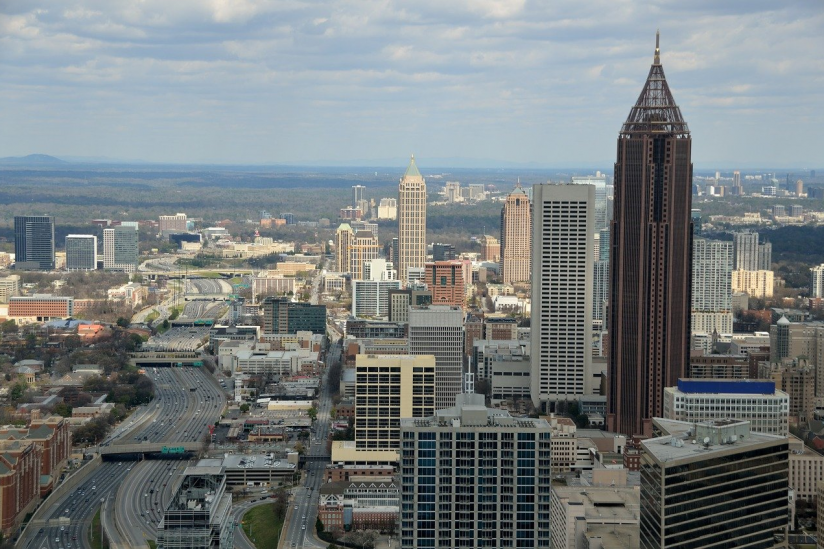 Atlanta, Hauptstadt des US-Bundesstaats Georgia