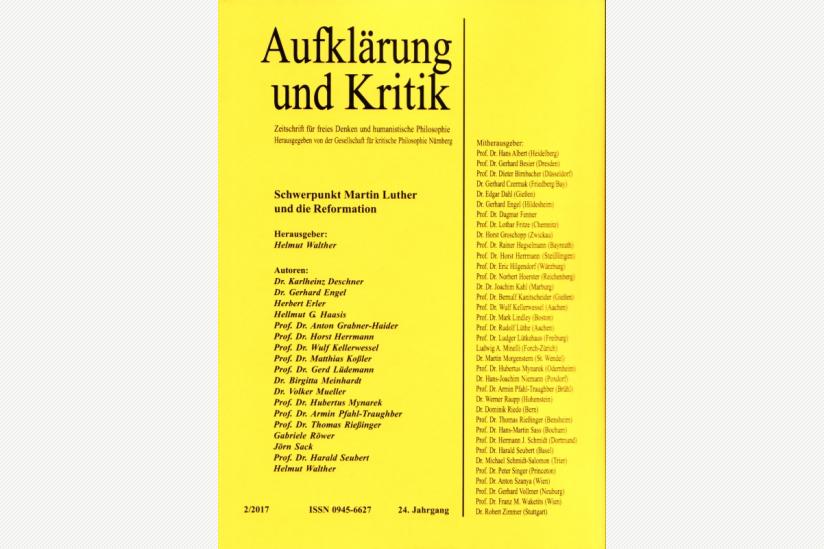 Luther Und Die Reformation