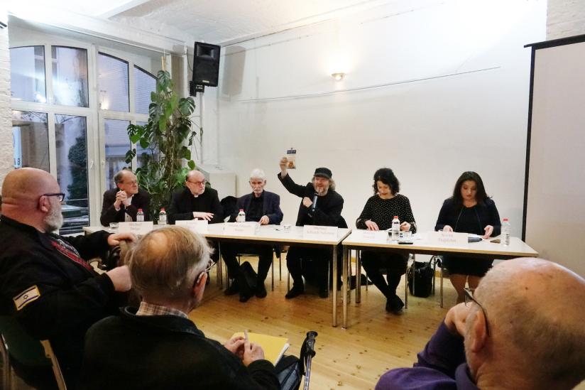 """Diskussion """"100 Jahre Staatsleistungen – 100 Jahre Missachtung der Verfassung"""""""