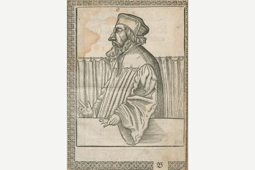 Bildnis Jan Hus von Johann Agricola, 1562