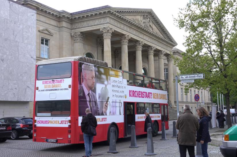Der Bus in Hannover