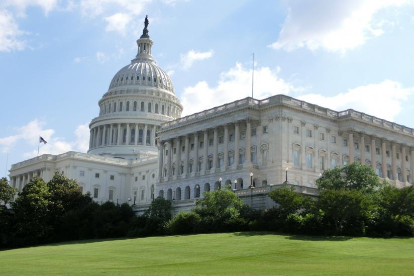 Das Kapitol in Washington D. C., Sitz des US-Kongresses