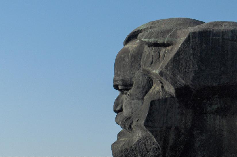 Marx Monument in Chemnitz