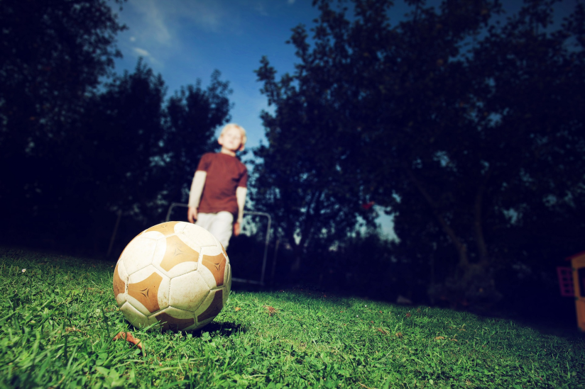 Kind Fußball