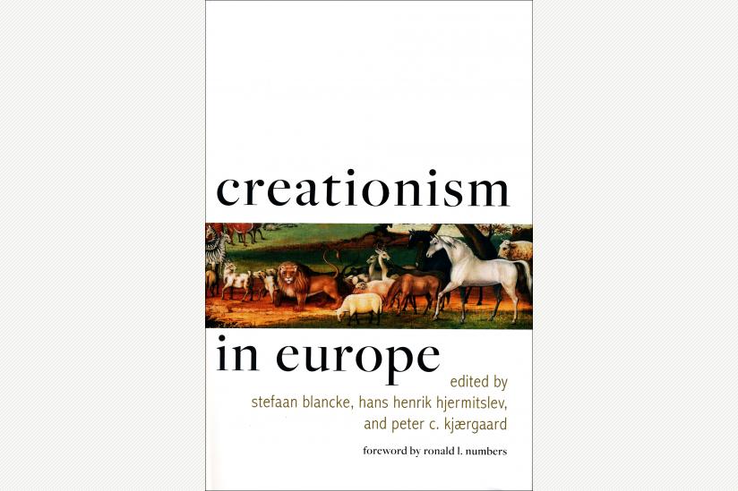 Cover der Monographie zum Kreationismus in Europa