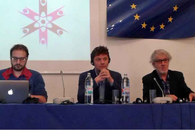 Panel mit Valentin Abgottspon, Philipp Möller, Esad Bajtal (v.l.n.r.)