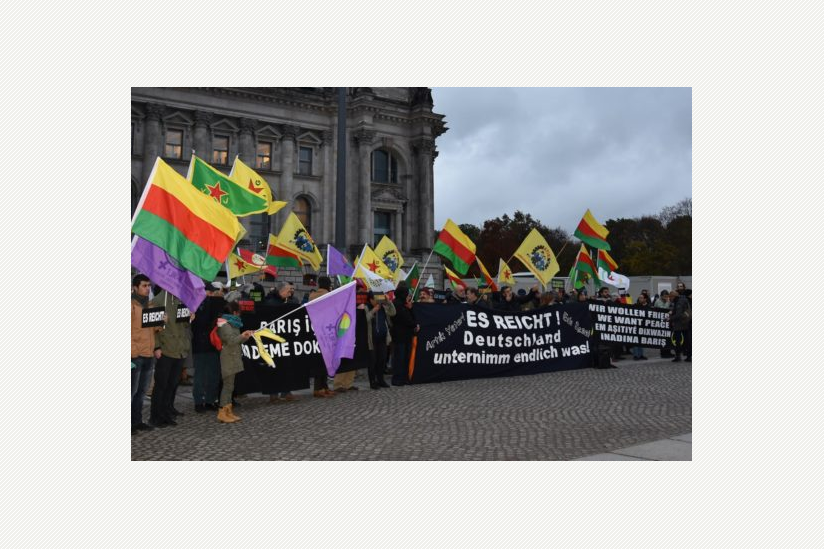 Kundgebung vor dem Bundestag am 7. November 2016