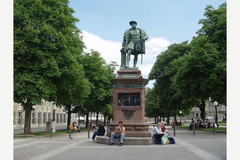Denkmal Christoph von Württemberg in Stuttgart