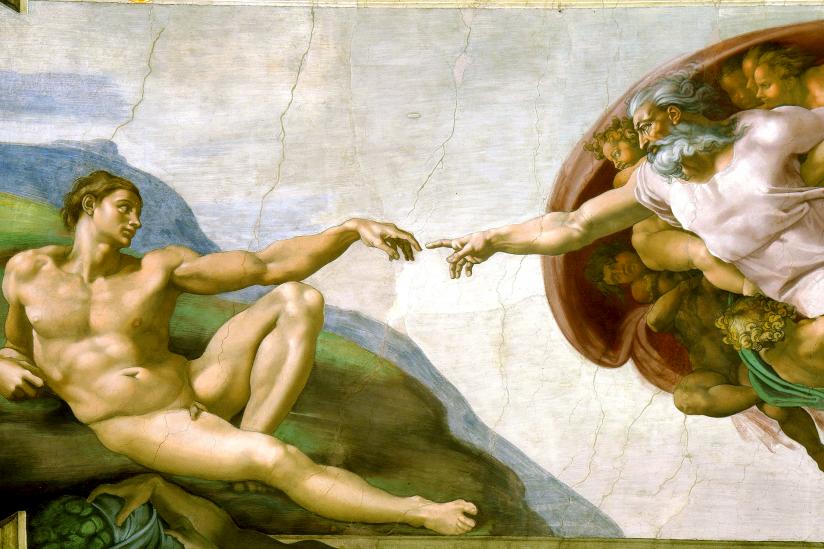 Die Erschaffung Adams (Michelangelo)