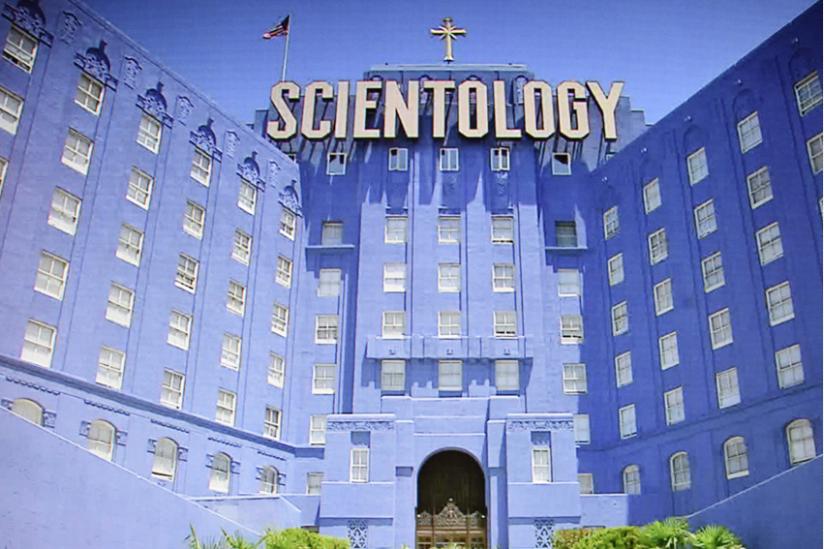 Das internationale Hauptquartier der Scientology-Kirche in Los Angeles