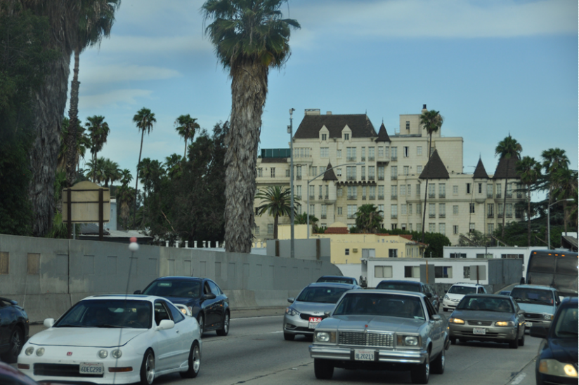 Gebäude der Scientology in Los Angeles