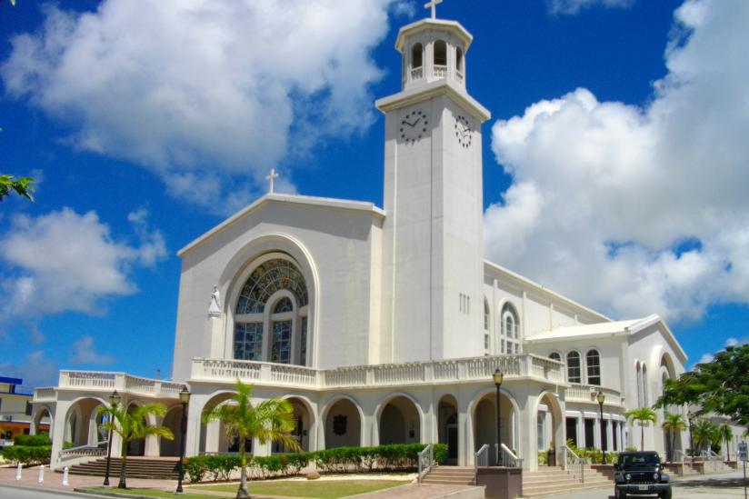 Kathedrale Dulce Nombre de Maria in Agaña