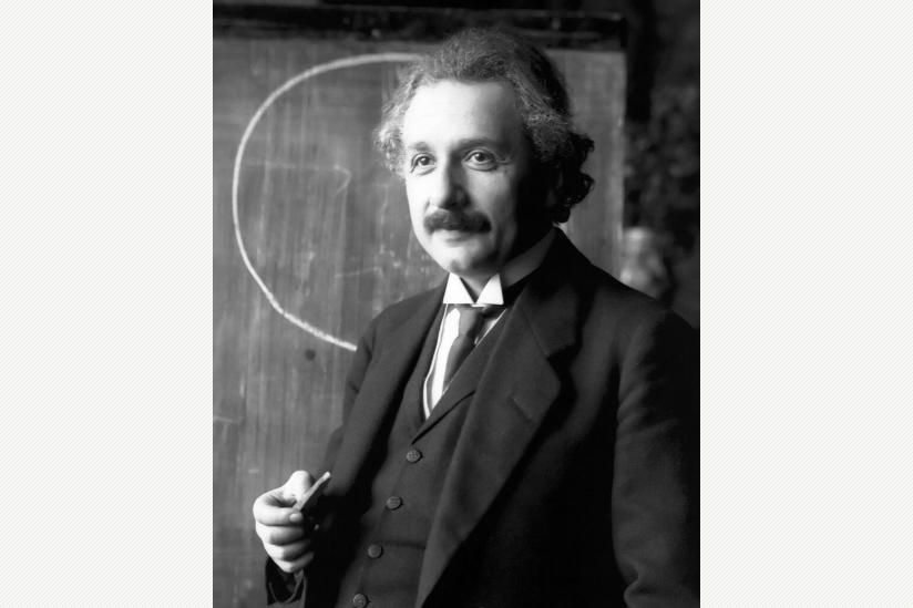 Albert Einstein, 1921, Fotografie von Ferdinand Schmutzer