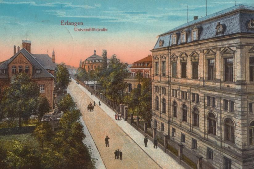 Erlangen 1916 (Postkarte)