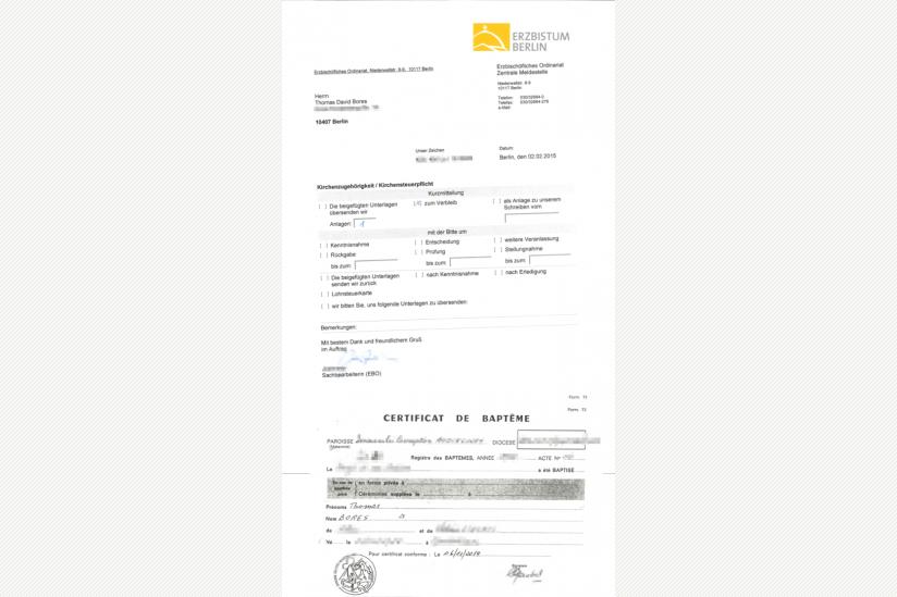 Wie Ein Franzose In Berlin Kirchensteuern Zahlt Hpd