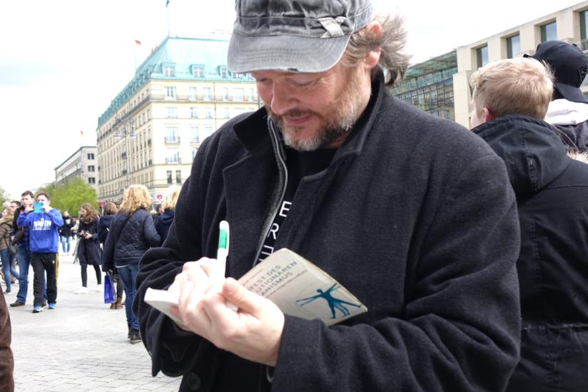 Am Rande des Berliner Science March