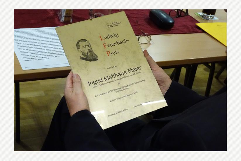 Ludwig Feuerbach Preis 2016