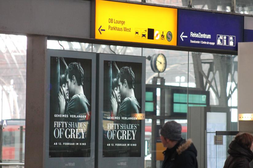 Leipziger Hauptbahnhof dieser Tage