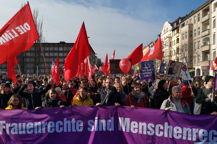 Frauenkampftag-Demo