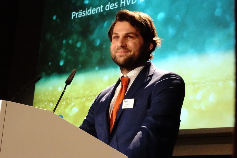 Jan Gabriel, Präsident des HVD Berlin-Brandenburg