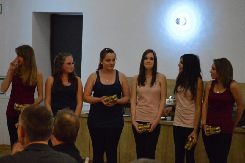 Tanzgruppe der Heinz-Sielmann-Oberschule Elstal