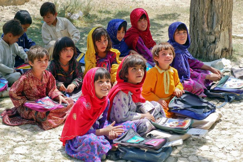 Jungen und Mädchen lernten zuletzt gemeinsam in Afghanistan