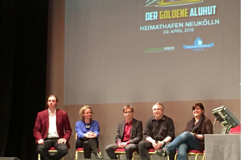 Tobias Geissler, Franziska von Kempis, Eric Siegert, Hans Pfeufer, Giulia Silberberger (v.l.n.r.)