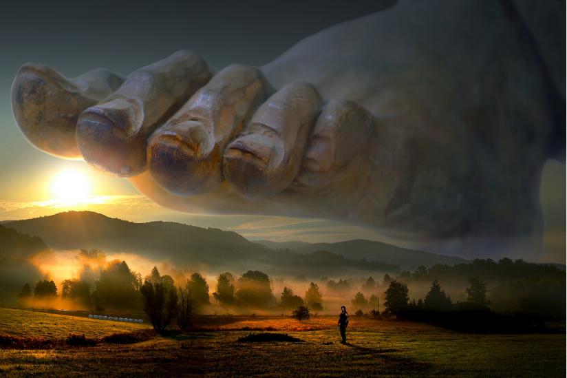 Angst vor einem strafenden Gott