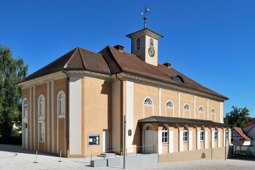 Großer Betsaal der Evangelischen Brüdergemeinde Korntal