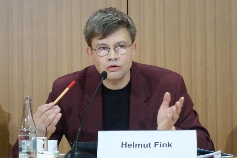 Helmut Fink, KORSO-Vorsitzender