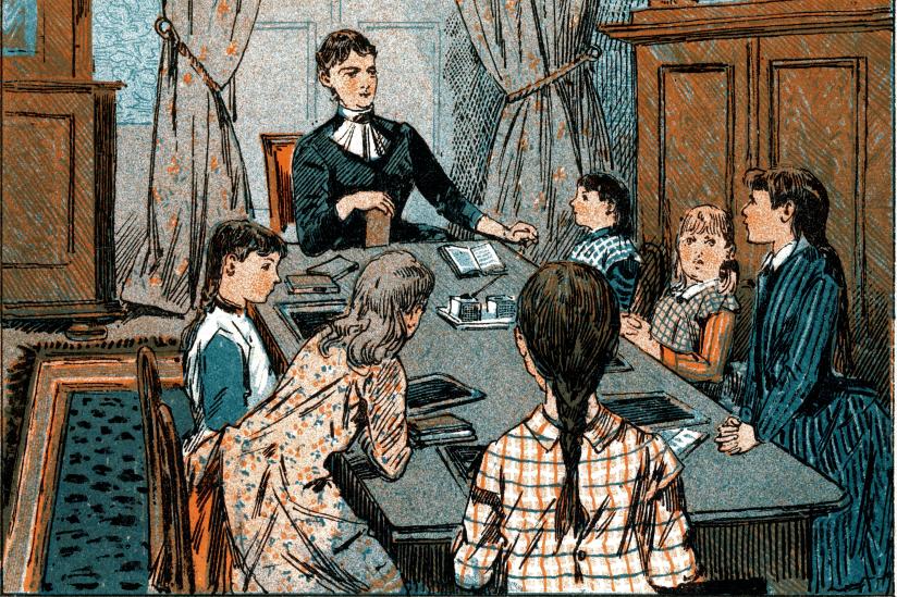 Homeschooling im Jahre 1889