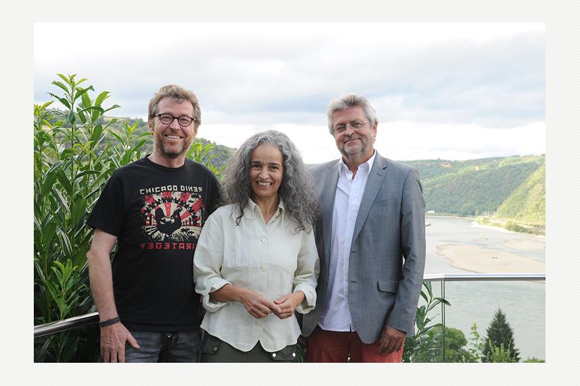 Das neue Präsidium: Wolf Steinberger, Assunta Tammelleo, Manfred Isemeyer