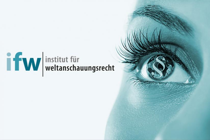 Logo Institut für Weltanschauungsrecht