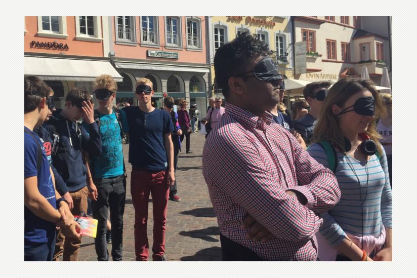 Flashmob in Trier