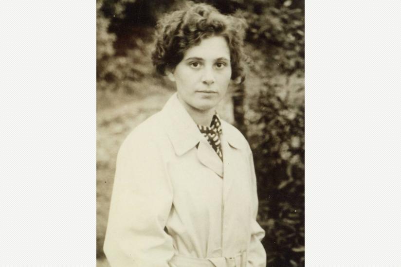 Inge Rapoport (geb. Syllm) 1938