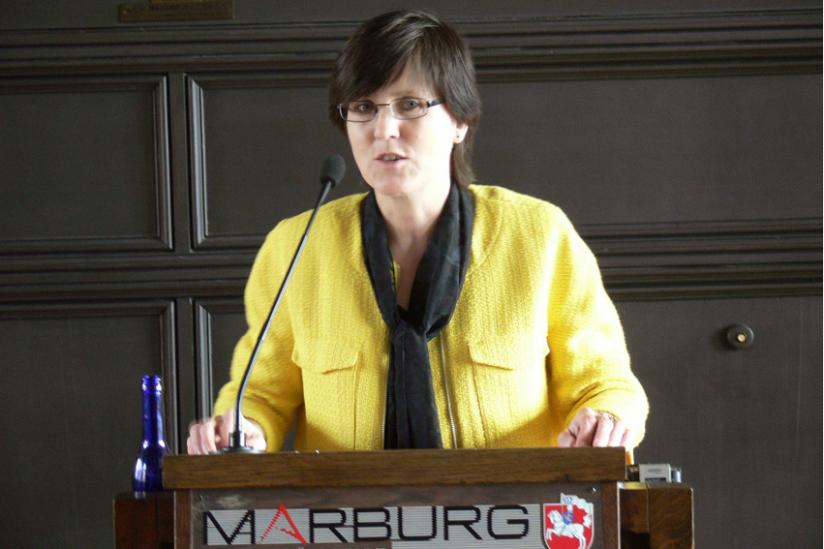 Die Preisträgerin: Inge Hannemann