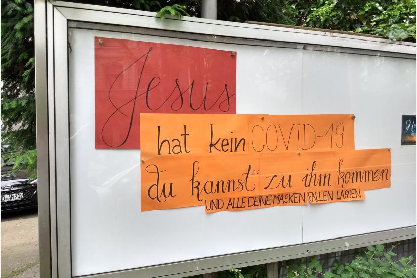 """Anschlag bei der """"Freien Christengemeinde"""" Pottershouse in Wiesbaden"""