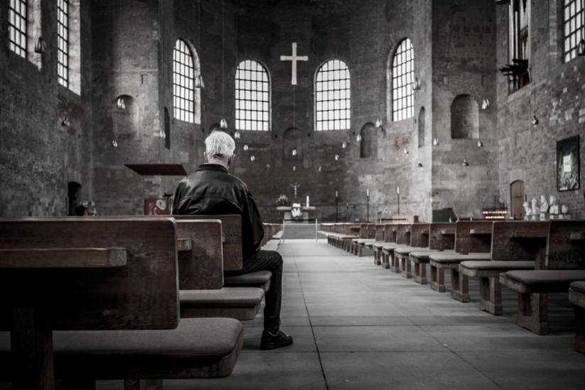 Atheist aus einem evangelischen christen