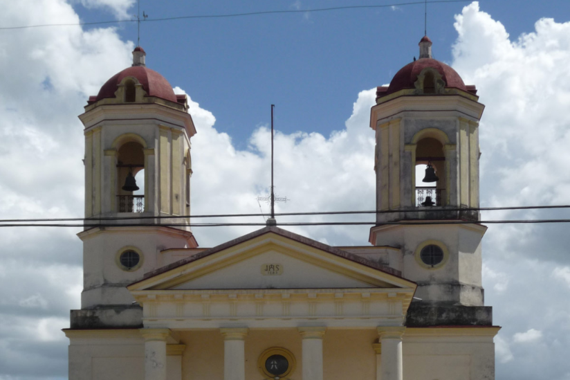 Alte katholische Kirche auf Kuba (Ausschnitt)
