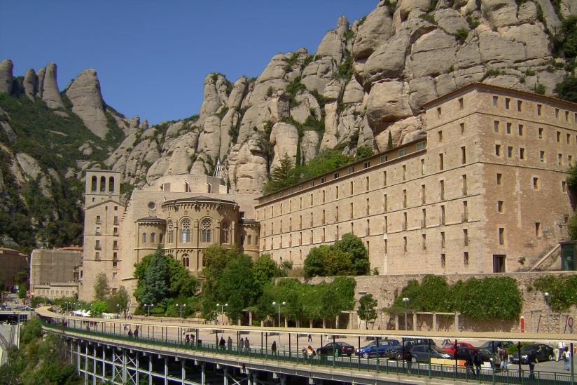 Das Kloster Monstserrat