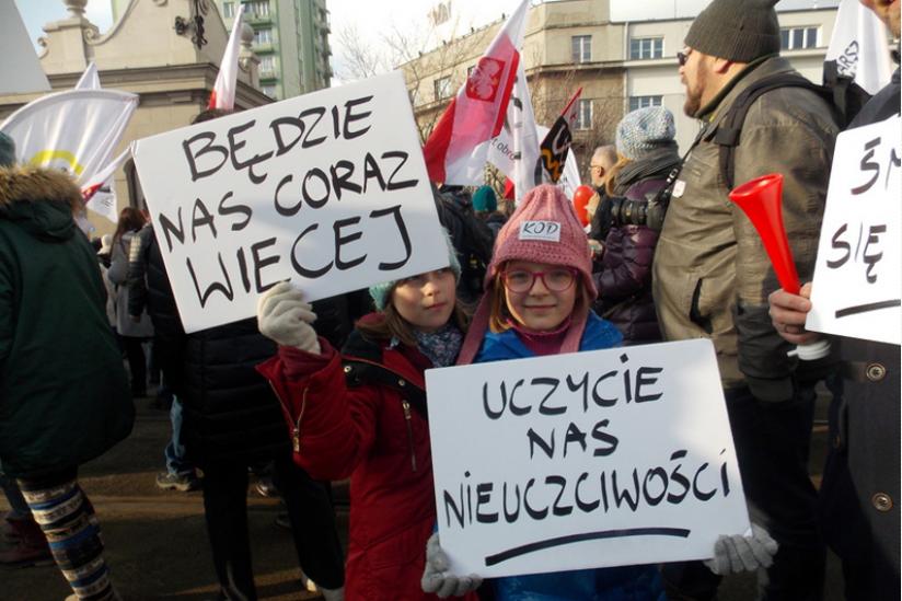 Warschau am 27. Februar 2016