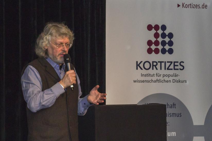 Der Molekularbiologe Franz Klebl