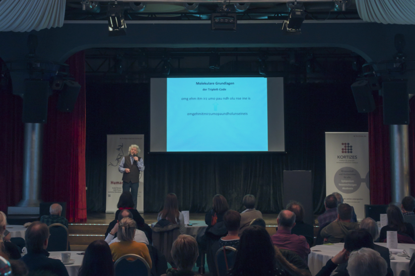 Vortrag von Franz Klebl in Nürnberg.