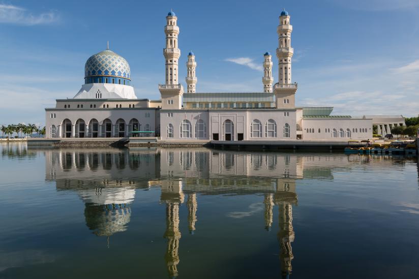 Moschee in Kota Kinabalu (Sabah)